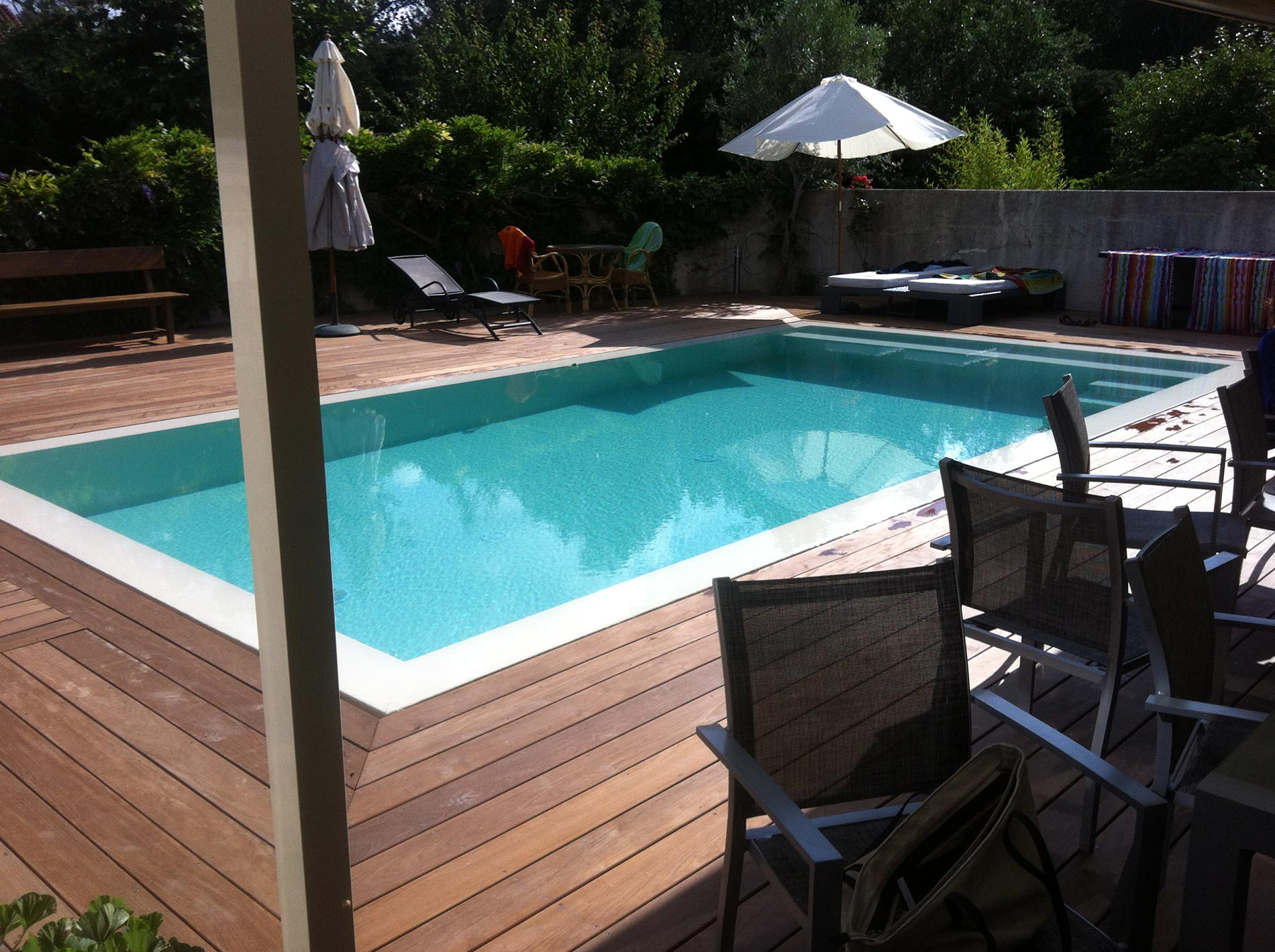 Construction neuve dml piscines pvc arm piscine for Construction piscine 22